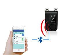 smart front door locksSmart Bluetooth Door Lock Chain Road Bicycle Bluetooth Smart Lock