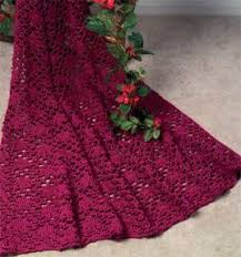 Afghan Crochet Patterns Best Mary Maxim Free Lace Enchantment Afghan Crochet Pattern
