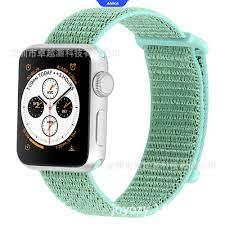 Dây Đeo Bằng Nylon Nhiều Màu Cho Đồng Hồ Thông Minh Apple Watch Series 1 /  2 / 3 / 4 - Phụ kiện đồng hồ