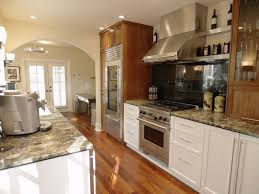 Sparkling Two Tone Kitchen Cabinets Applied And Contrast Renewal Traba In  Kitchen That Furnishedwith Kitchen Furniture