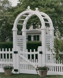 Fence Gate Arbor Designs Pvc Arbor Fence Design Garden Design Garden Gates
