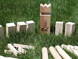 Lawn Game With Wooden Blocks VKing Viking Lawn Game YouTube 1