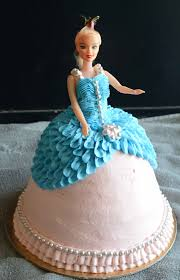 How To Make A Barbie Doll Cake Doll Cake Video Gayathris Cook