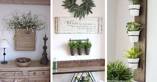 To balance out a dark accent wall, add a few wooden pieces and plants for a natural look. 24 Best Hanging Wall Vase And Planter Ideas For 2021