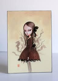 Estelle - Wolf Girl - original illustration by Mab Graves by mab graves,  via Flickr | Illustrazioni, Surrealismo