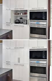 Appliance Garages Kitchen Cabinets Kitchen Design Idea Store Your Kitchen Appliances In An