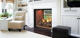 see through fireplace gas logs fireplace gas log inserts ventless
