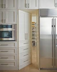 Use multiple doors/drawer fronts to make pantry door
