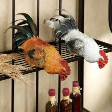 kitchen gorgeous rooster kitchen decor and black open racks with some bottles rooster kitchen