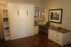 Home office with murphy bed Office Desk Great Use Of Storage And Space In This Home Office Guest Room With Murphy Bed Pinterest 60 Best Murphy Bed Home Office Combos Images Butler Pantry