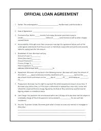 Example Of An Agreement Promise To Pay Agreement Personal Loan Contract Template