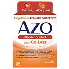 AZO <b>Bladder Control With Go-Less</b> - 54 ct: Amazon.in: Electronics