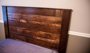 Unique Pallet Headboard For Queen Bed 74 For Free Bookcase Headboard Plans  with Pallet Headboard For Queen Bed