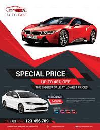 Elegant Car Sales Flyer Template Sale Flyer Pamphlet