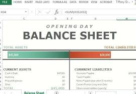 Simple Balance Sheet Excel Simple Balance Sheet Template Software Free Download Best