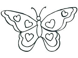 Butterfly Coloring Page Free Printable Butterfly Coloring Pages Page