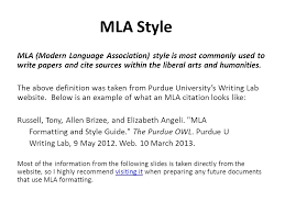 informative writing mla citations how to write informative style  4 mla style