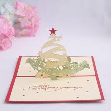 Christmas Birthday Cards Buy Wishing Star Christmas Tree Birthday Love Korea Creative