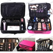 dels about pro large makeup bag cosmetic case storage handle organizer artist travel kit
