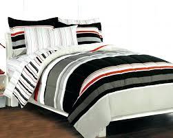 boys twin bed sets nautical bedding stripe gray teen set comforter bedroom ikea
