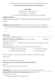 Example Resume College Student 10 Example Of Resume For College Student 1mundoreal