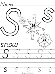Collections of Letter S Worksheets For Preschoolers, - Easy ...