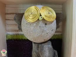 Decorazioni Per Cameretta Dei Bambini : Pebble art decorazione per camerette dei bambini owl wall