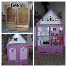 diy barbie doll furniture. Furniture Barbie Doll House The Best Diy Convert A Cupboard Into You Can