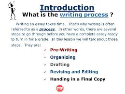 steps in writing an essay ppt video online 2 what