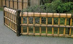 Small Picture Unique Bamboo Garden Fence Japanese Design Home Ideas For