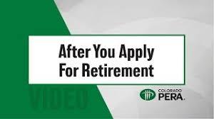 Retirement Preparation Members Colorado Pera