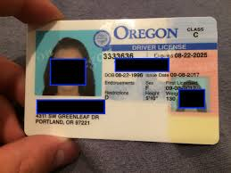 Oregon Id Fake Maker Card