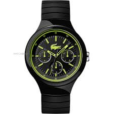 "men s lacoste borneo watch 2010867 watch shop comâ""¢ mens lacoste borneo watch 2010867"