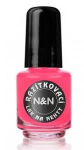 Razítkovací Lak Neon Růžový 5ml