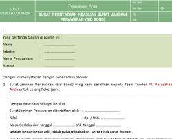 Contoh surat keabsahan dokumen import barang dibuat untuk memenuhi prosedur import custom clearance di indonesia di sertai juga surat. Pt Sistem Manajemen Utama Paket Formulir Kosong Blank Form Tender Lelang