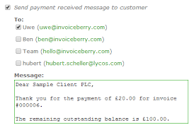 Payment Received Messages Say Thank You To Your Customers
