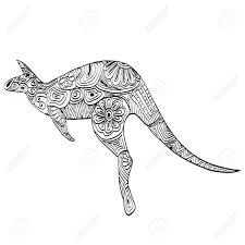 carved kangaroo