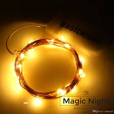 White Cord Led String Lights Magicnight 20 Warm White Color Micro Led String Lights On 7 Feet Extra Thin Copper Wire For Diy Wedding Centerpiece Christmas String Lights Led String