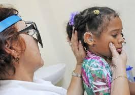 Resultado de imagen para implante coclear en Cuba