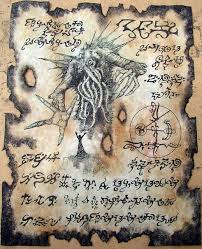 cult of yog sothoth cthulhu larp necronomicon lovecraft monsters occult horror dark art