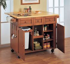 diy kitchen island cart.  Diy Rolling Kitchen Island Cart With High Within  In Diy D