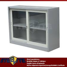 wall cabinets with sliding doors amazing european style half height storage white cabinet with glass doors
