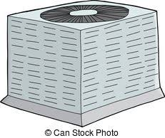 cold air conditioner clipart. air conditioning unit - isolated single hand drawn air. cold conditioner clipart