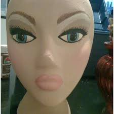 diy mannequin head stand best of 51 best styrofoam head images on of 65 best
