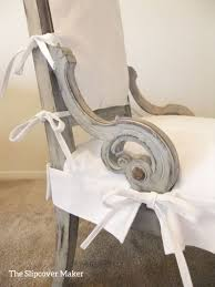 Apron Style Slipcover for Antique Chair The Slipcover Maker