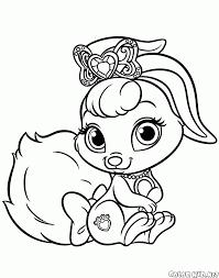 Disegni Da Colorare Degli Animali Delle Principesse Fredrotgans