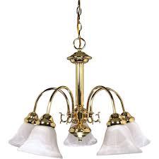 sophrosyne 5 light polished brass chandelier