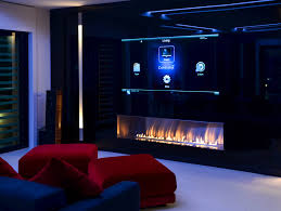 Built-in fireplace controlled by Wi-Fi and remote control FIRE ...