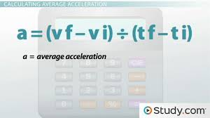 what is acceleration definition and formula lesson transcript study com