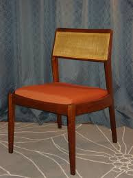 Jens Risom Side Chair Jens Risom Side Chair With Caned Back Erik G Warner